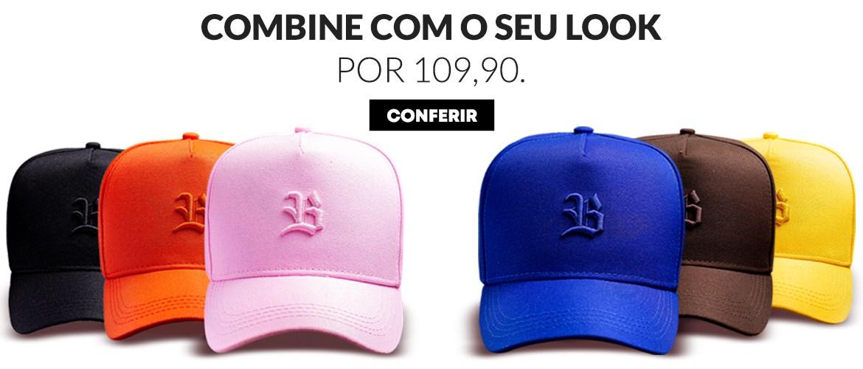 Bonés Blck Brasil