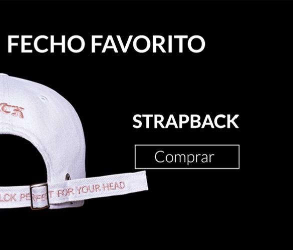 Compre pelo seu fecho favorito - Strapback