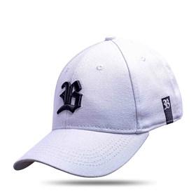 Boné Baseball Hard Hat Basic Branco Logo Preto