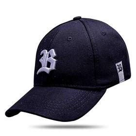 Boné Baseball Hard Hat Basic Preto Logo Branco