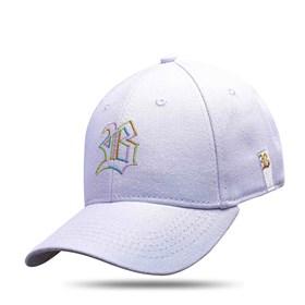 Boné Baseball Hard Hat Branco Logo Colorido