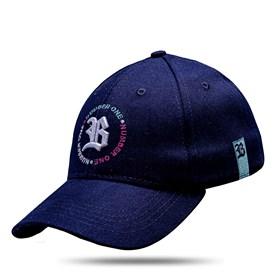 Boné Baseball Hard Hat Circulo Number One Azul Marinho