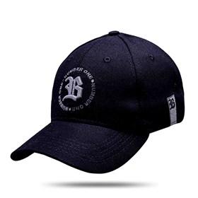 Boné Baseball Hard Hat Circulo Number One Preto