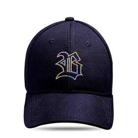 Boné Baseball Hard Hat Preto Logo Colorido