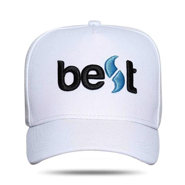 Boné Best Logo White