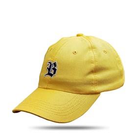 Boné Dad Hat Basic Logo Amarelo