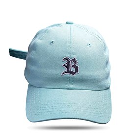 Boné Dad Hat Basic Logo Azul Claro