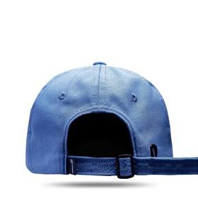 Boné Dad Hat Basic Logo Azul Médio