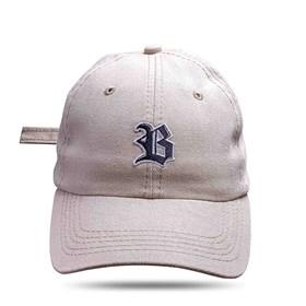 Boné Dad Hat Basic Logo Bege