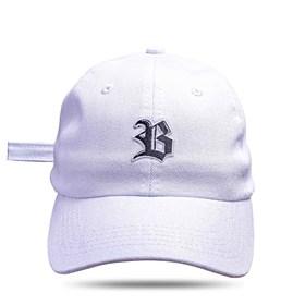 Boné Dad Hat Basic Logo Branco