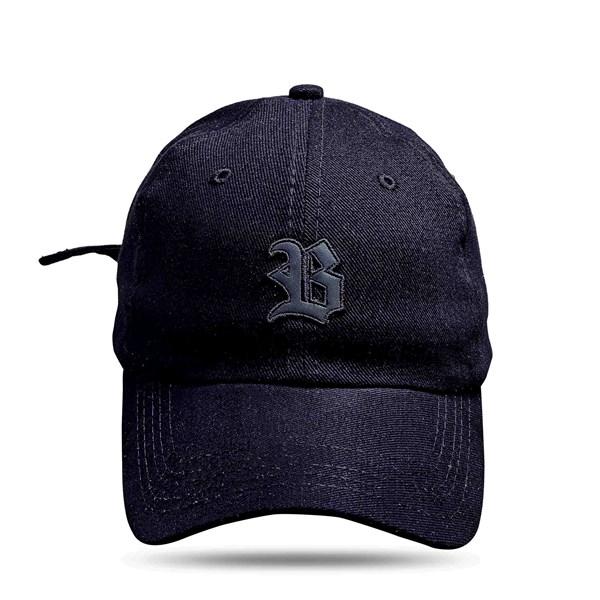 Boné Dad Hat Basic Logo Camaleon Preto