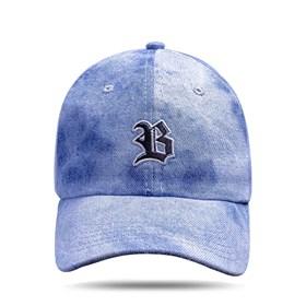 Boné Dad Hat Basic Logo Jeans Claro