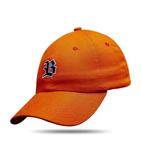 Boné Dad Hat Basic Logo Laranja Fluor