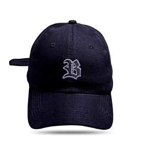Boné Dad Hat Basic Logo Preto
