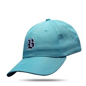 Boné Dad Hat Basic Logo Verde Água Escuro