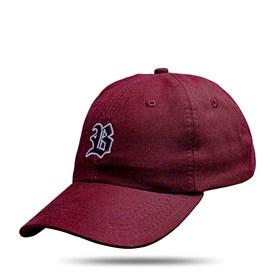Boné Dad Hat Basic Logo Vinho