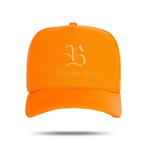 Boné Hitch Number One Orange Fluor