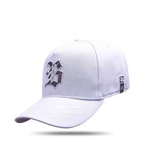 Boné Kids Snapback Tiger Branco Logo Camaleão