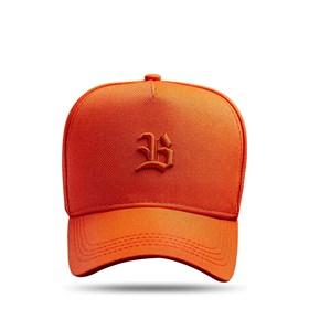 Boné SLIM Snapback Logo Basic Laranja