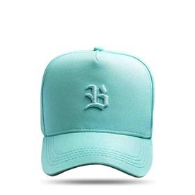 Boné SLIM Snapback Logo Basic Verde Água