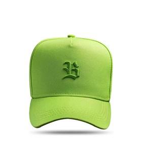 Boné SLIM Snapback Logo Basic Verde Limão