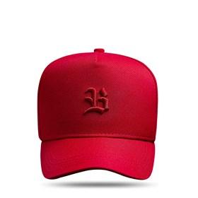 Boné SLIM Snapback Logo Basic Vermelho
