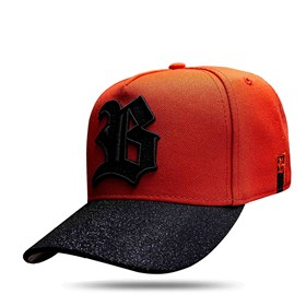 Boné Snapback Aba Shine Orange