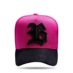 Boné Snapback Aba Shine Pink