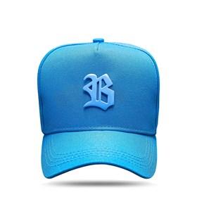 Boné Snapback All Blue Clear Metal