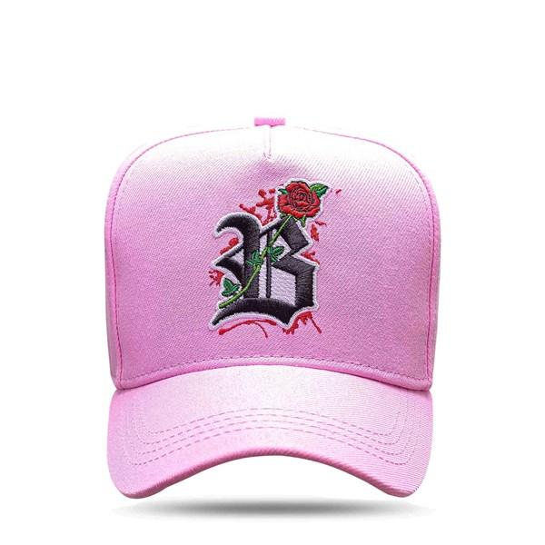 Boné Snapback All Rosa Clear Roses