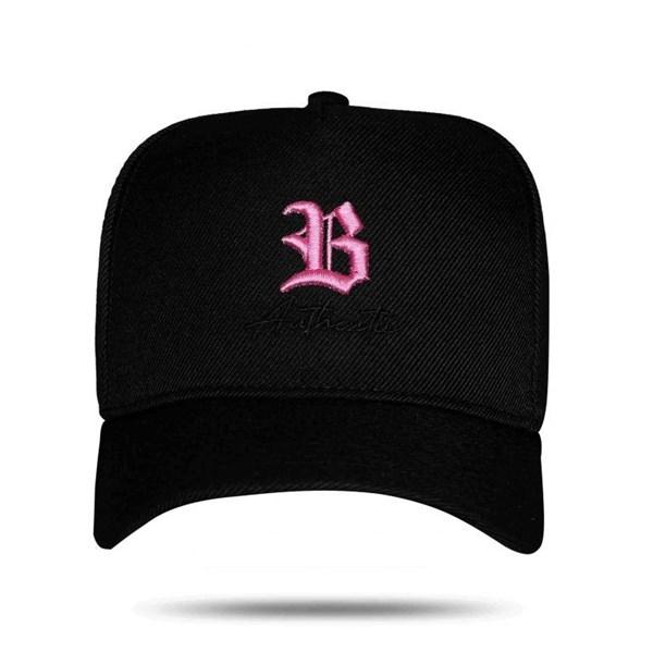 Boné Snapback Authentic Black Pink