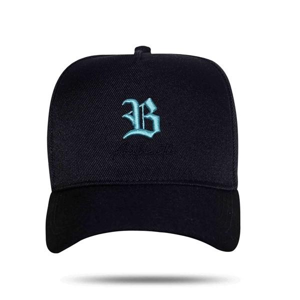 Boné Snapback Authentic Blue Black