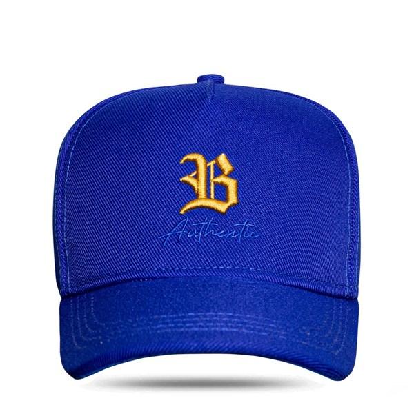 Boné Snapback Authentic Blue Gold
