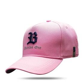 Boné Snapback B Number One Pink
