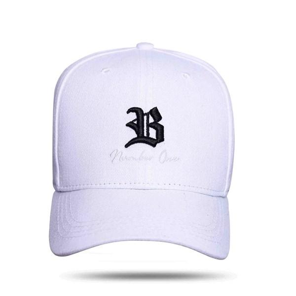 Boné Snapback B Number One white