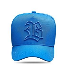 Boné Snapback Basic All Blue Clear Logo Contour