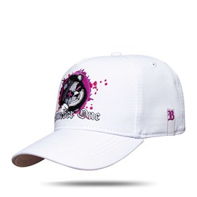 Boné Snapback Bear Number One White