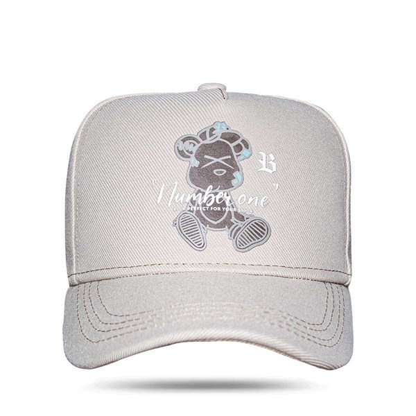 Boné Snapback Bear Perfect Bege