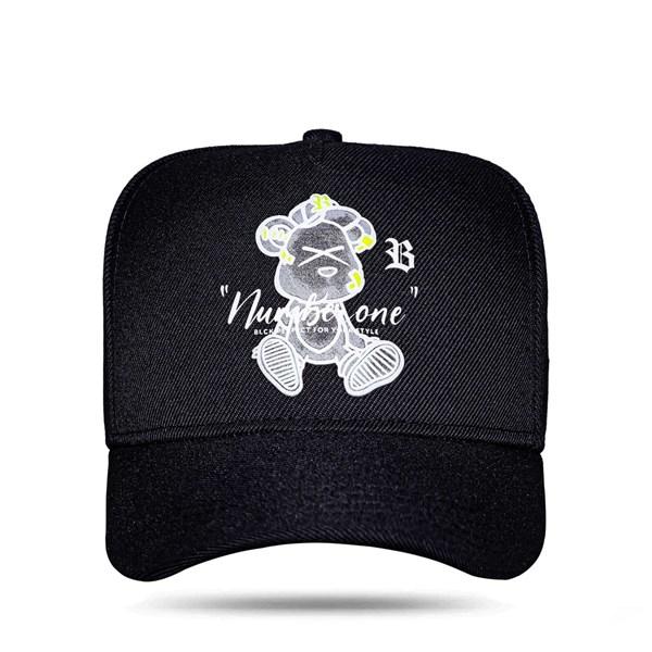 Boné Snapback Bear Perfect Black