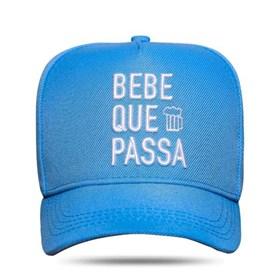 Boné Snapback Bebe Que Passa Azul