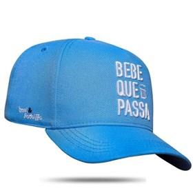 Boné Snapback Bebe Que Passa Azul - Israel e Rodolffo