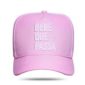 Boné Snapback Bebe Que Passa Pink - Israel e Rodolffo