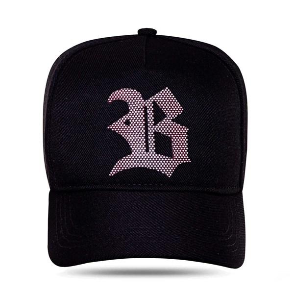 Boné Snapback Black Logo 3d