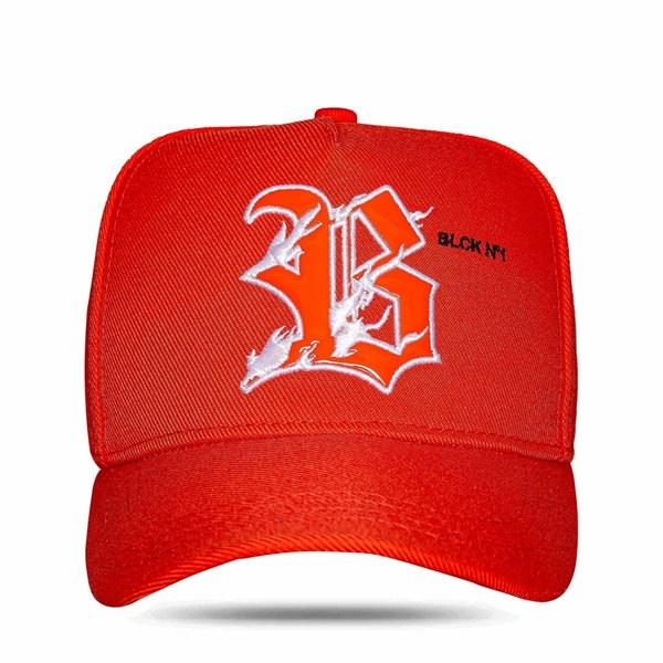 Boné Snapback BLCK N1 Orange