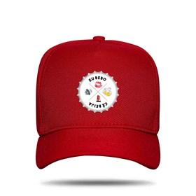 Boné Snapback Emojis Red - Israel e Rodolffo