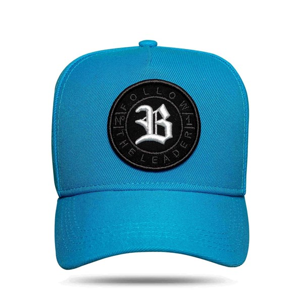 Boné Snapback Follow All Blue Logo White