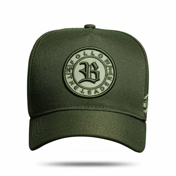 Boné Snapback Follow Perfect Green Dark