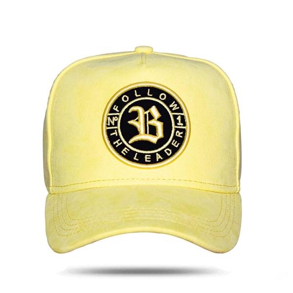 Boné Snapback Follow Suede 2.0 New Yellow
