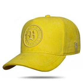 Boné Snapback Follow Suede 2.0 Yellow