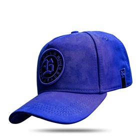 Boné Snapback Follow Suede Blue Royal